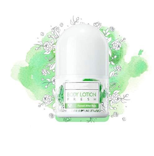 Hengyuan Desodorante en Barra antitranspirante de 30 ML, Olor Corporal Desodorante del Sudor, loción Corporal Fresca Duradera para Hombres y Mujeres (Aroma de limón)