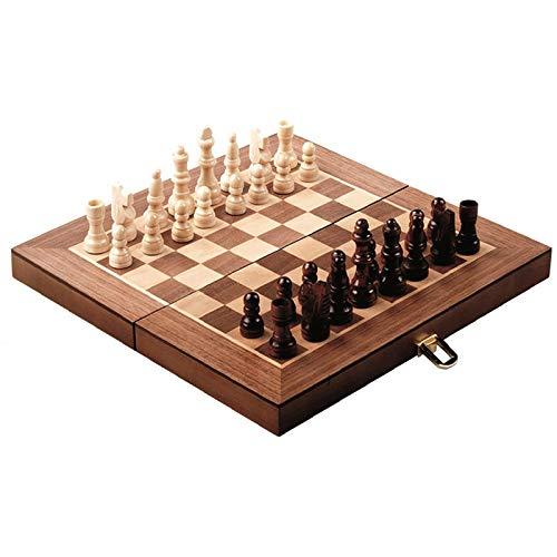 Loisirs nouveaux Jeu d'échecs Bois en Mallette 30 cm
