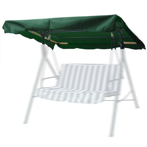 Outdoor Patio Swing Canopy Replacement - Color: Hunter Green