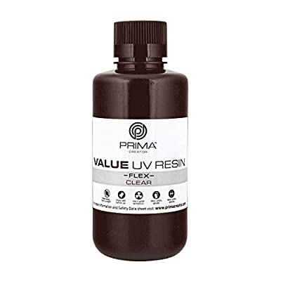 PrimaCreator Value Flex UV Resin - 500 ml - Clear