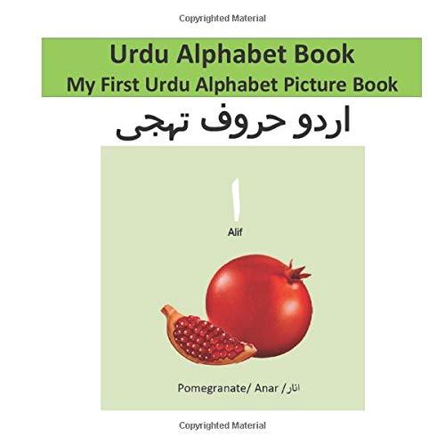 Urdu Alphabet Book: My First Urdu Alphabet Picture Book