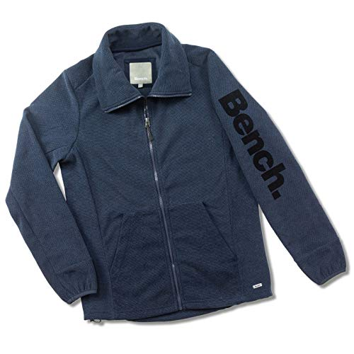 Bench Herren Jacke Zunnel Zip Jacket, Blue (Dark Navy Blue), Medium
