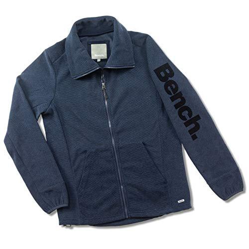 Bench Herren Jacke Zunnel Zip Jacket, Blue (Dark Navy Blue), Large