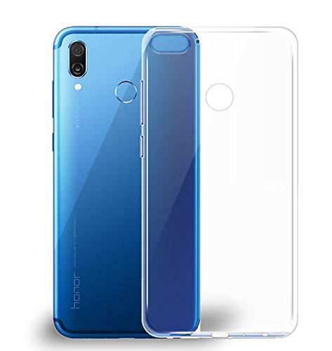 Beetop Kompatibel Mit Huawei Honor Play Hülle, Beetop Schutzhülle Handyhülle Transparent Weiche Silikon TPU Rückschale Case Cover für Huawei Honor Play - Transparent