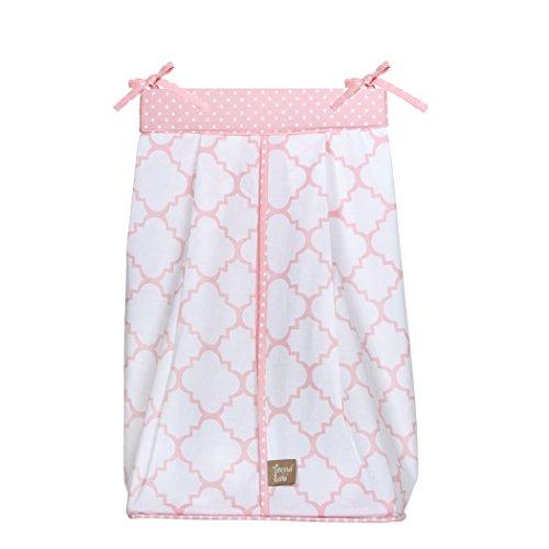 Pink Sky Diaper Stacker
