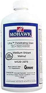 Mohawk Ultra Penetrating Stain Medium Brown Walnut Pt