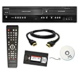 Magnavox VHS to DVD Recorder VCR Combo w/ Remote, HDMI