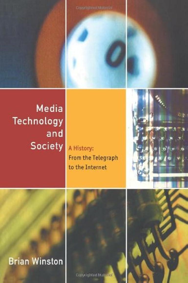 モザイク彼女のアカウントMedia Technology and Society: A History From the Printing Press to the Superhighway