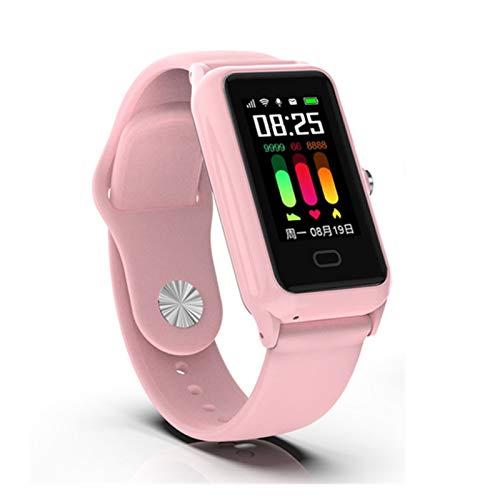 YNLRY Reloj inteligente para niños, tarjeta SIM llamadas GSM900/1800/850/1900 GPS, seguimiento de llamadas de frecuencia cardíaca, compatible con Android IOS Teen Kids muñequera (color rosa