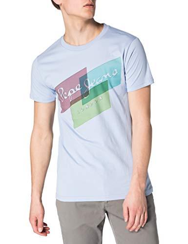 Pepe Jeans Morrison Camiseta, 524bay, S para Hombre