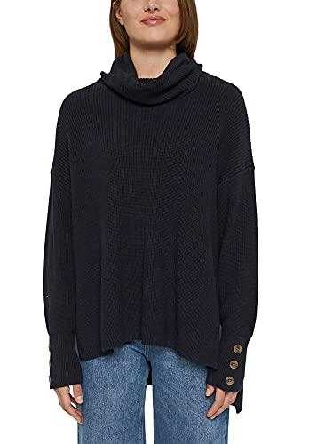 Esprit 091EE1I305 Sweater, 001/Noir, XXL Femme