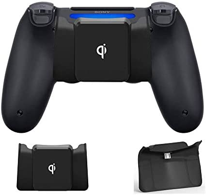 CHINFAI Qi Wireless Charging Receiver for PS4 PS4 Slim PS4 Pro Controller Wireless Charger Adapter product image