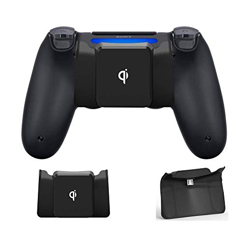 CHIN FAI Qi Receptor de Carga inalámbrico para Controlador PS4 / PS4...