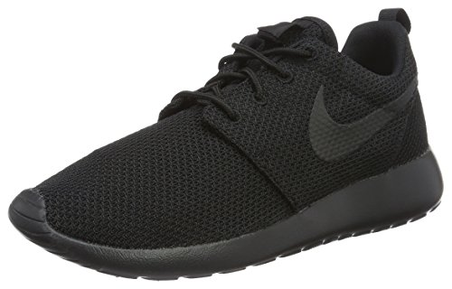 Nike Men's Roshe One Running Shoes,Black, US Size 9.5
