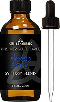 Stellar Naturals Good Night Sleep Essential Oil - 100% Pure Calming and Natural Therapeutic Grade for Natural Sleep Aid Relaxation Stress Anxiety Relief Boost Mood with Aromatherapy 30ml