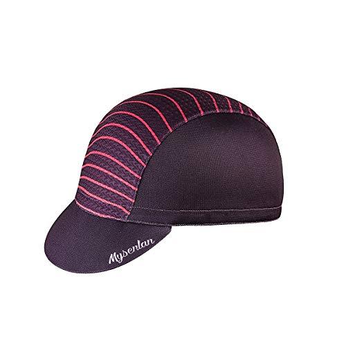Mysenlan Women's Outdoors Sports Cycling Cap Bike Skull Breathable Sun Caps Riding Hat for Men Purple, Medium