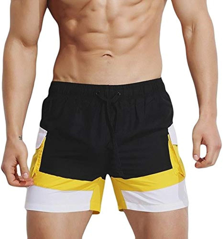 ae9b5a70496 BEM Mens able 2019 Brand Mens Boardshorts Trunks Pants Swimwear Shorts Slim  Wear Bikini Swimsuit y10 Black, M Surf Swim nzxguh7804-Sporting goods