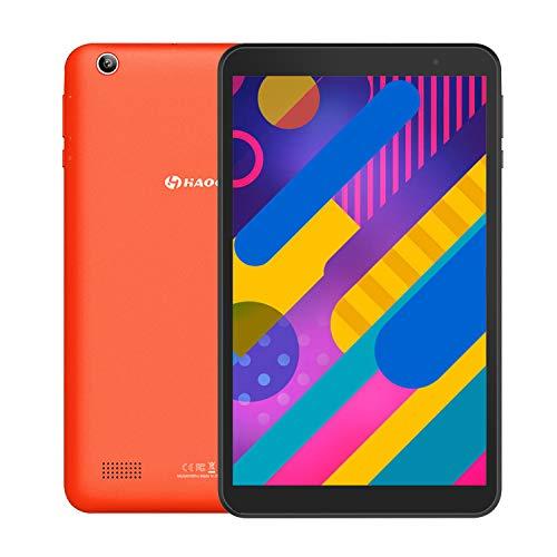 [進化版]HAOQIN 8インチタブレットAndroid 9.0 WiFiモデル 2GB/32GB IPS液晶 Bluetooth4.0 日本語仕様書付き/H8 Pro (オレンジ)