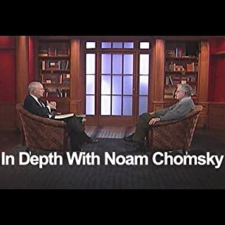In Depth with Noam Chomsky audiobook cover art