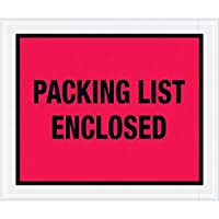 Top Pack SupplyPacking List Enclosed Envelopes 10 x 12 Red (Pack of 500) [並行輸入品]