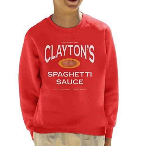 Claytons Spaghetti Saus Se7en Sweatshirt voor kinderen