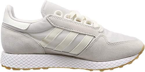 adidas Forest Grove Zapatillas de Gimnasia Hombre, Blanco (Cloud White/Cloud White/Ftwr White Cloud White/Cloud White/Ftwr White), 44 2/3 EU (10 UK)