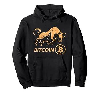 BITCOIN Crypto BULLRUN BTC Token Rich Blockchain Millionaire Pullover Hoodie