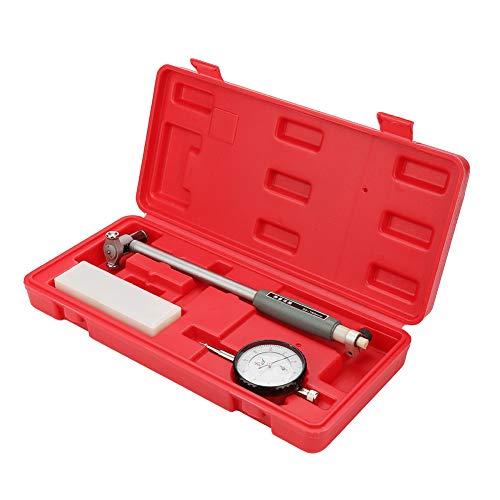 Juego de medidores de calibre de esfera, 50-160MM 0.01mm Diámetro Indicador Medición Kit de medición del cilindro del motor Medidor con estuche de almacenamiento