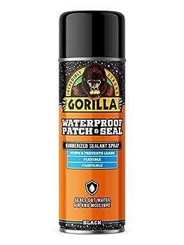 Gorilla Waterproof Patch & Seal Spray Black 16 Ounces 1 Pack