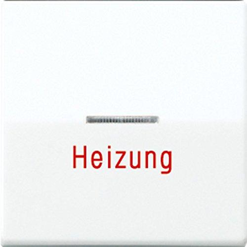 Jung Wippe AS591HWW Heizung Notschalter