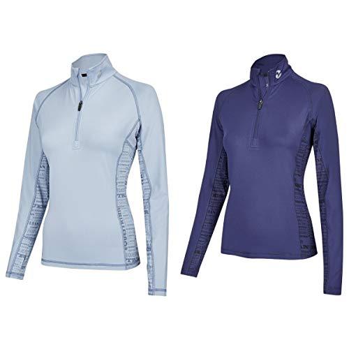 BUSSE Damen Shirt STINA TECH TOP LS, XL, navy
