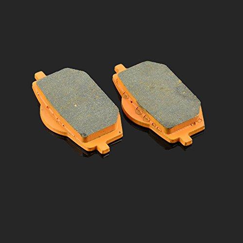 Fast Pro 80 x 40 x 9.8 mm 1 paire de plaquettes de frein avant pour Yamaha XV 535 Virago 88–94