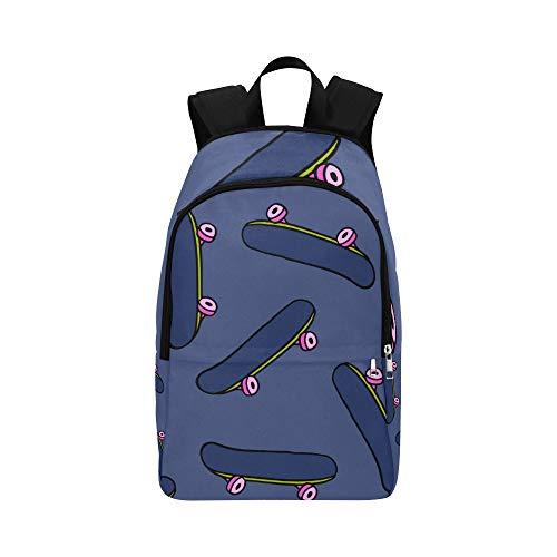 NANA Hiking Bookbag Handsome Cool Skateboarding Teenager Durable Water Resistant Classic Kids Mini Backpack Casual Daypack Gift Bag Sports Best Backpack