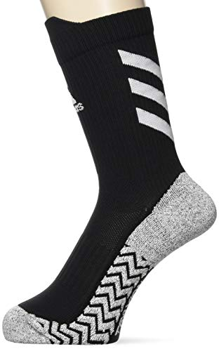 adidas Ask TX CRW UL S Socks, Black/White/White, L