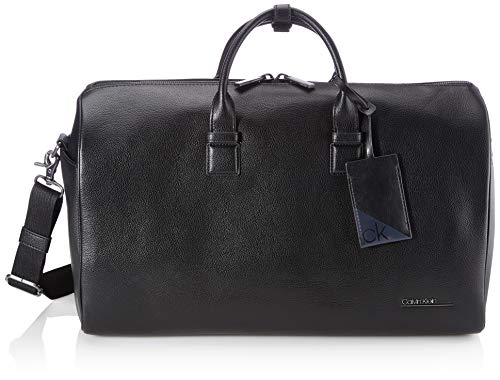 Calvin Klein, Weekender Uomo, Nero, 28 Inches, Extra-Large