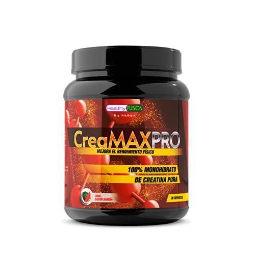 Creatina microfiltrada + Vitamina B6 | 100% Pura Creatina | Mejor resistencia física | Ayuda al crecimiento muscular | Absorción rápida y completa | Sabor Sandía | 30 dosis por bote