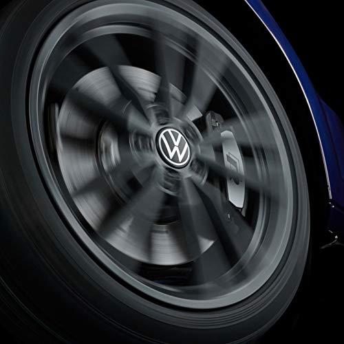 Volkswagen 000071213D naafdop voor LM-velg, dynamisch, met staand logo tijdens rijden