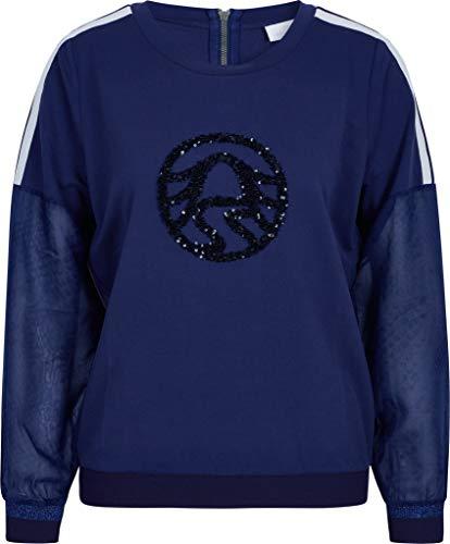 Sportalm Damen Sweatshirt Größe 34 EU Blau (blau)
