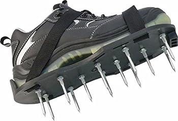 Triuso Paire de semelles à clous pour aérer le gazon pour chaussures 37-47 Longueur des clous 50mm