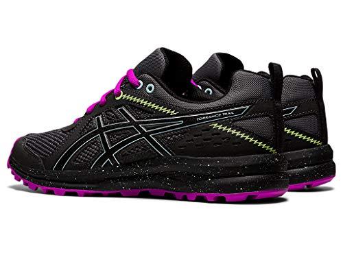 ASICS Women's Torrance Trail Running Shoes, 8, Steel Grey/Black