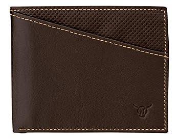 Vasa Espresso Horizontal Top Grain Leather Wallets For Men - European Luxury Minimalist Bifold Wallet with RFID and NFC Blocking Credit Card Holder - Premium Mens Slim Bi Fold Pocket Wallet