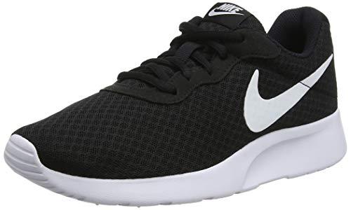 Nike Nike Damen WMNS Tanjun Sneaker, Black White 812655 011, 37.5 EU