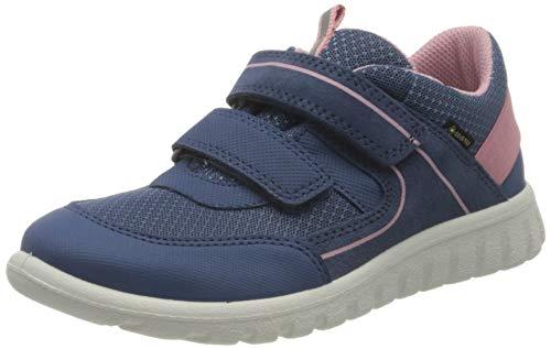 Superfit SPORT7 Mini Gore-TexSneaker Lauflernschuh, BLAU/ROSA, 27 EU