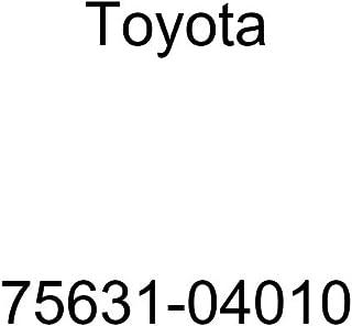 Genuine Toyota Parts Rr Door Wi Moulding 75762-07020