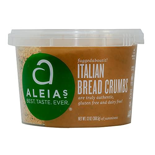 Aleia's Bread Crumbs Gluten Free Italian -- 13 oz - 2 pc