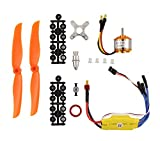 electric airplane motor - XtremeAmazing RC 2200KV Brushless Motor 2212-6 + 30A ESC + Free Mount for RC Plane Helicopter