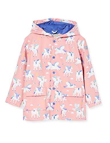 Hatley Mädchen Printed Raincoat Bedruckter Regenmantel, Magischer Pegasus, 3 Jahre