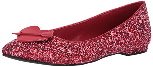 Katy Perry Women's The Cupid Ballet Flat spanish red 8.5 M M US