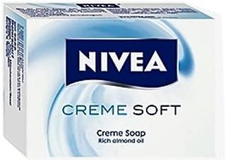 Nivea Creme Soft Bar Soap - Case of 12 pcs x 100g ea.