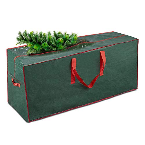 "Artificial Tree Storage Bag By Propik | Perfect for Up to 9' Tall Disassembled Tree | 65"" X 15"" X 30"" Holiday Tree Storage Case 